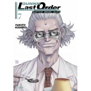 GUNNM: Last Order nº 07