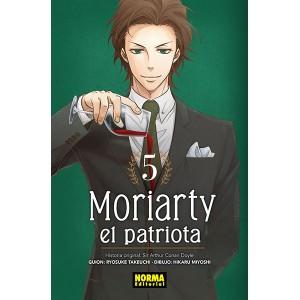 Moriarty, el patriota nº 05
