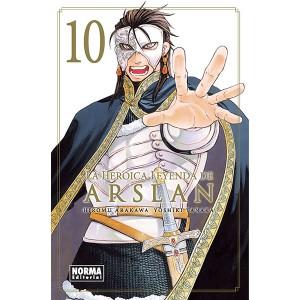 La Heroica Leyenda de Arslan nº 10