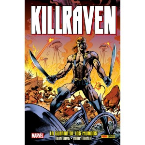 100% Marvel HC. Killraven de Alan Davis