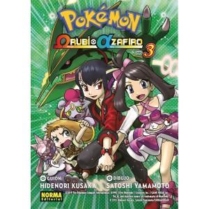Pokemon Omega Rubí Alfa Zafiro nº 03