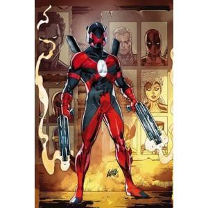 100% Marvel. Comandante X