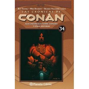 Las Crónicas de Conan nº 34