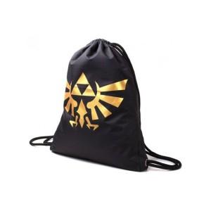 The Legend of Zelda - Gym Bag Hyrule Logo Dorado