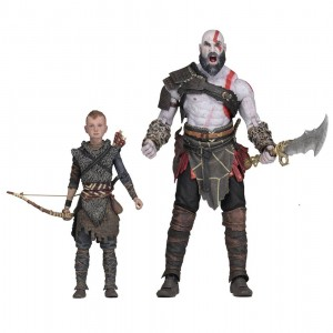 God of War (2018) Pack de 2 Figuras Ultimate Kratos & Atreus