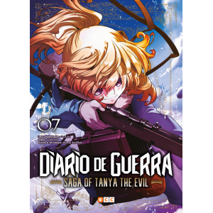 Diario de guerra - Saga of Tanya the Evil nº 07