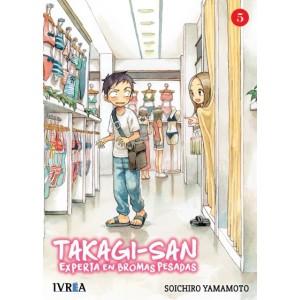 Takagi-san, experta en bromas pesadas nº 05