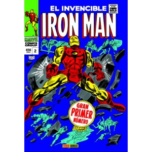 Marvel Gold. Iron Man nº 02 By the Force of Arms Nace Iron Man
