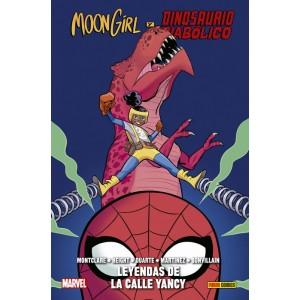 100% Marvel HC. Moon Girl y Dinosaurio Diabólico nº 08