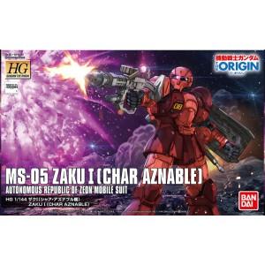 HG ZAKU I MS-05 CHAR 1/144