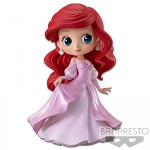 Disney Minifigura Q Posket Ariel Princess Dress B (Pink Dress)
