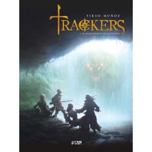 Trackers 1. El arma perdida de los dioses