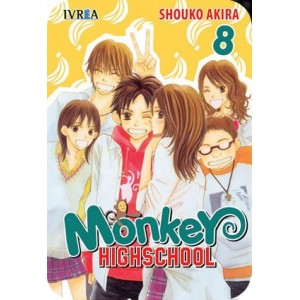 Monkey Highschool Nº 08