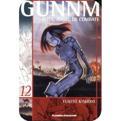Gunnm (Alita Ángel de Combate) Nº 12