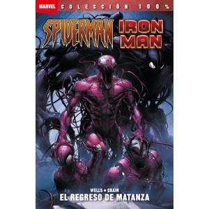 100% Marvel: Iron Man / Spiderman - El Regreso de Matanza