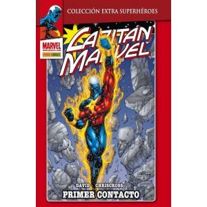Marvel Coleccion Extra Superheroes - Capitan Marvel nº 01: Primer Contacto