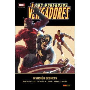 Marvel Deluxe. Los Poderosos Vengadores 3 Invasión Secreta