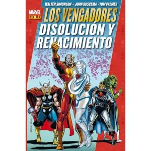 Marvel Gold: Los Vengadores - Disolucion y Renacimiento