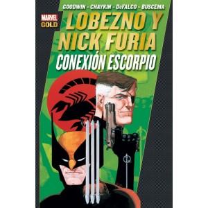 Marvel Gold - Lobezno y Nick Furia: Conexion Escorpio