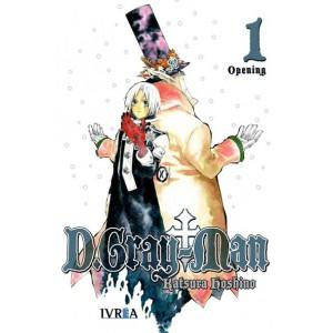 D.Gray-man nº 01