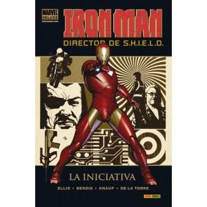 Marvel Deluxe. Iron Man: Director de SHIELD 1 La Iniciativa