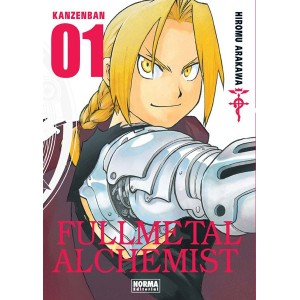 Fullmetal Alchemist Kanzenban nº 01
