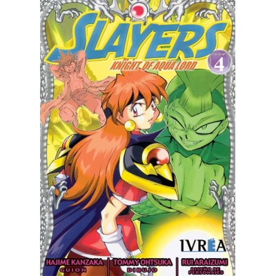 Slayers: Knight Of Aqualord Nº 04