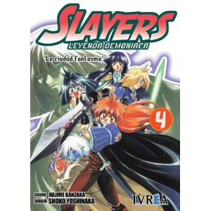 Slayers: Leyenda Demoniaca Nº 04
