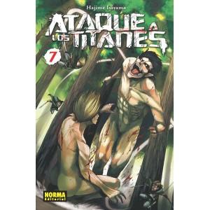Ataque a los Titanes nº 07