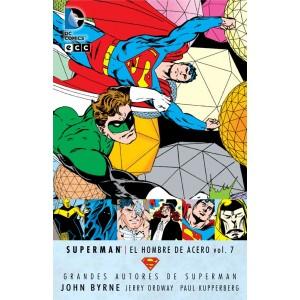 Grandes Autores de Superman: John Byrne - Superman: El Hombre de Acero nº 06