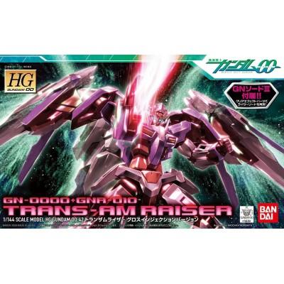 Maqueta 1/144 Gundam 00  : GN-0000+GNA-010 Trans -AM Raiser