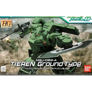 Maqueta 1/144 Gundam 00 - HG0005 Tieren Ground Type