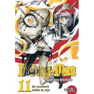 D.Gray-man nº 11