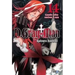 D.Gray-man nº 14