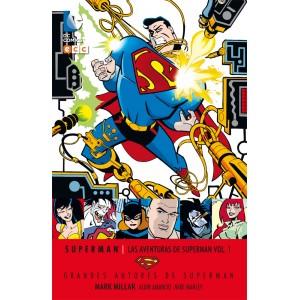 Grandes autores de Superman: Mark Millar -Las aventuras de Superman nº 01