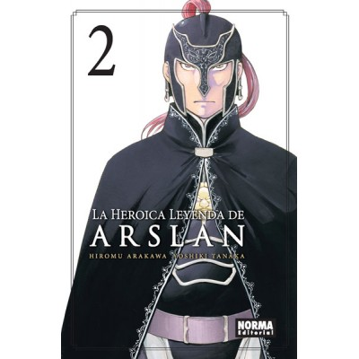La Heroica Leyenda de Arslan nº 02
