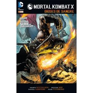 mortal kombat x dioses de sangre