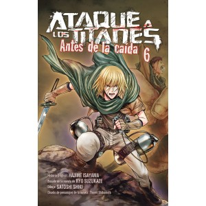 Ataque a los Titanes: Antes de la Caída nº 05