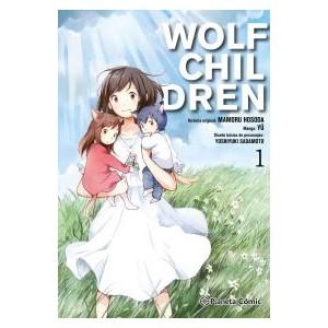 Wolf Children nº 01