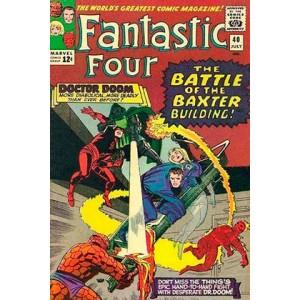 Los 4 Fantasticos. La Batalla por el Edificio Baxter (Marvel Gold)