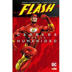Flash de Grant Morrison y Mark Millar: Carrera por la humanidad