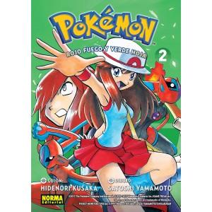 Pokemon nº 14. Rojo fuego y verde hoja nº 02