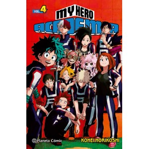 My Hero Academia nº 04