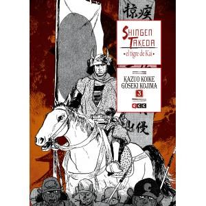 Shingen Takeda, el tigre de Kai nº 03