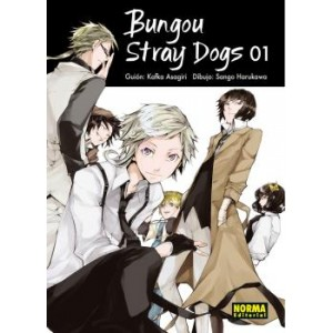 Bungou Stray Dogs nº 01