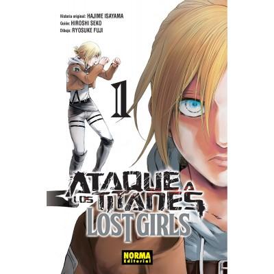 Ataque a los titanes: Lost Girls nº 01