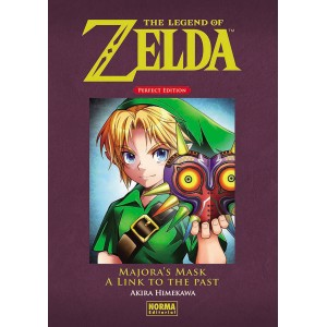 The Legend of Zelda Perfect Edition nº 2: Majora's Mask y A Link to the Past