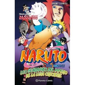 Naruto Anime Comic nº 04: Los guardianes del Imperio de la Luna creciente