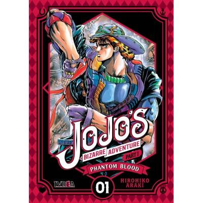 JoJo's Bizarre Adventure Parte 01: Phantom Blood nº 01