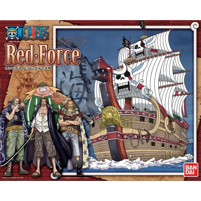 One Piece Grand Ship Collection - Maqueta Plastic Model Kit Red Force